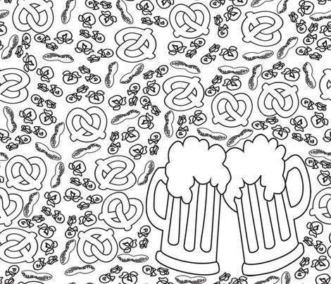 Pub Snacks fabric by krystalsavage on Spoonflower - custom fabric