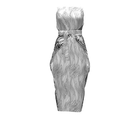 wavy gray upright