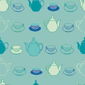 teapots teacups
