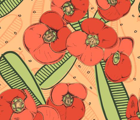 Tu y Yo fabric by stefaniejuliette_ on Spoonflower - custom fabric