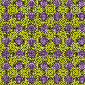 green and purple abstract pattern