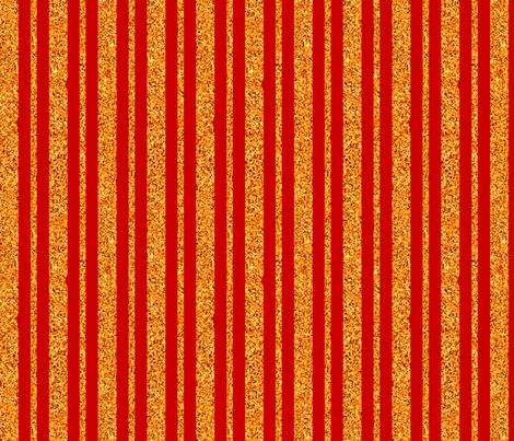 CD35 - Deep Orange and Peach Sparkle Stripe fabric by maryyx on Spoonflower - custom fabric