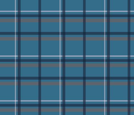 classic-quilt-bluegrey fabric by pimprenellestudio on Spoonflower - custom fabric