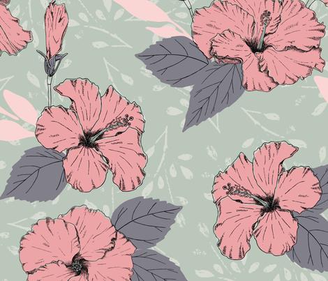 Cayenas fabric by stefaniejuliette_ on Spoonflower - custom fabric