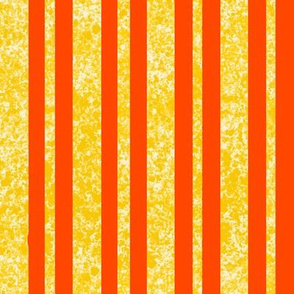 CD36  - Vibrant Speckled Stripe in Yellow and Orange