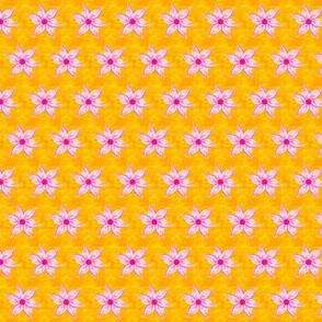 blume auf gelb