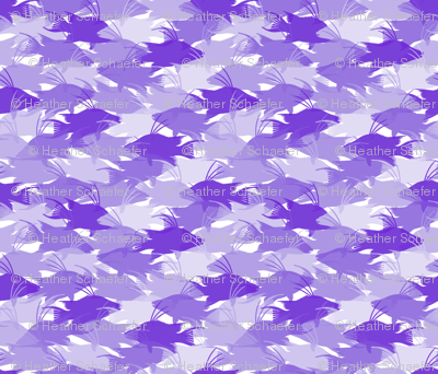 Purple Hogfish Camo Medium