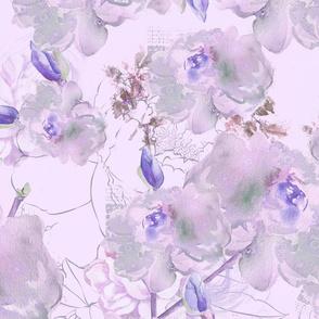Aiya Flowers Violet