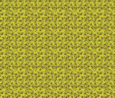 Basil & Clove - Green fabric by denise_ortakales on Spoonflower - custom fabric