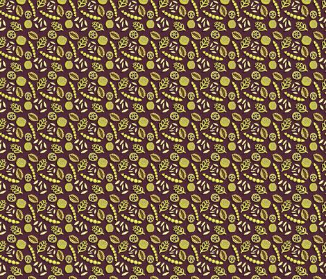 Pasta Pretties - Dark fabric by denise_ortakales on Spoonflower - custom fabric