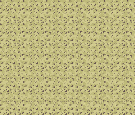 Basil & Cloves - Olive fabric by denise_ortakales on Spoonflower - custom fabric