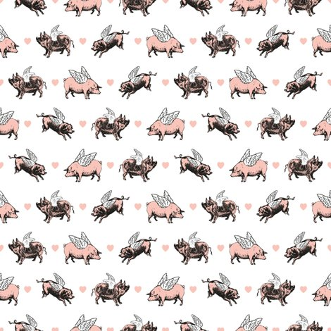 Rvintage_flying_pigs_black_white_pink_by_eclectic_at_heart_shop_preview