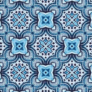 turkish tile in turquoise