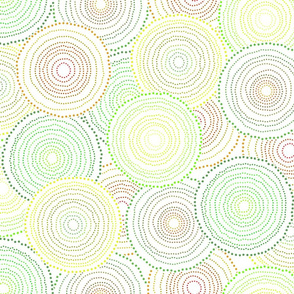 Concentric Colorful Dots