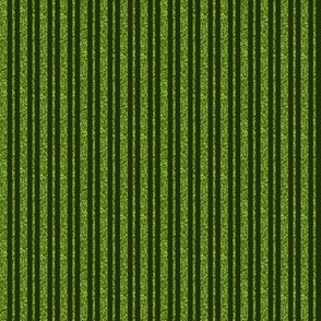 CD39  - Mini  Lime Green Sparkle and Dark Olive Stripe