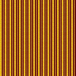 CD41  - Mini  Raisin Brown and Sunny Yellow Sparkle Stripes