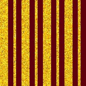 CD41  - Large Raisin Brown and Yellow Sparkle Stripes