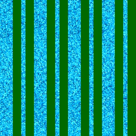 CD42 - Large Dew-on-the-Grass Green and Summer Sky Sparkle Stripes fabric by maryyx on Spoonflower - custom fabric