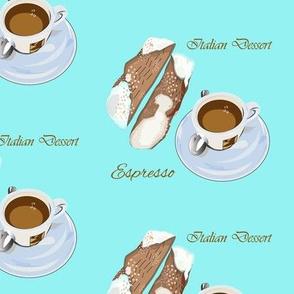 Espresso color pattern