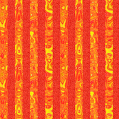 CD43 - Sparkly Orange and Abstract Stripes