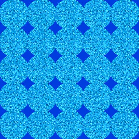 CD44 - Polka Dot Solidarity in Blue and Aqua fabric by maryyx on Spoonflower - custom fabric
