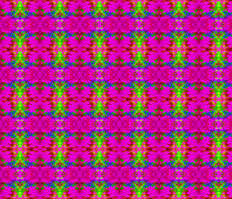 Hot Pink Blast fabric by just_meewowy_design on Spoonflower - custom fabric