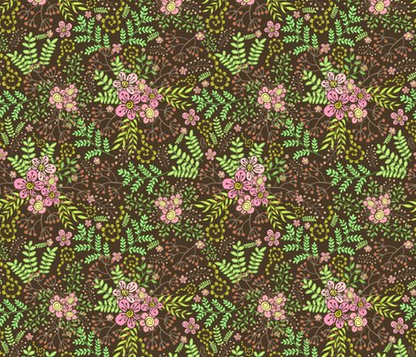Rberries___blossoms-brown-8x8-600dpi_shop_preview