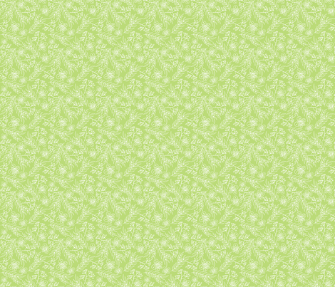 Berries & Blossoms Medley - Sage fabric by denise_ortakales on Spoonflower - custom fabric