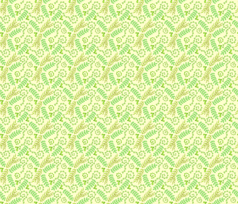 Spring Greens fabric by denise_ortakales on Spoonflower - custom fabric