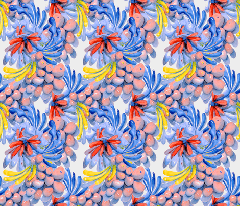 Tropical Splash fabric by dgfabricdesign on Spoonflower - custom fabric