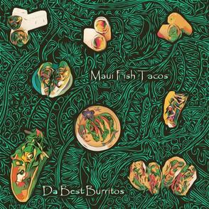 Hawaiian Tacos and Burritos Da Best! by kedoki