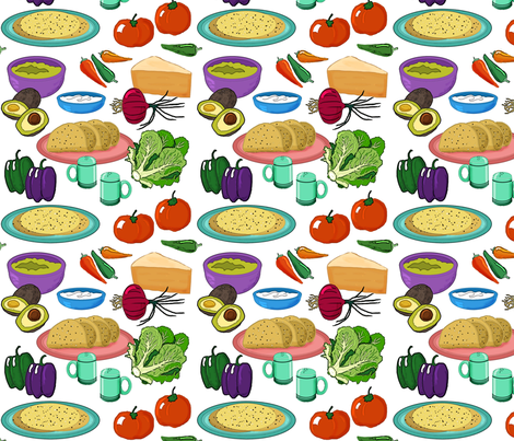 Some assembly required fabric by leroyj on Spoonflower - custom fabric