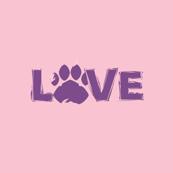 Love Pastel Pink & Purple