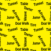 Agility Equipment Yellow