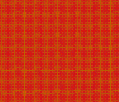 Boho Plaid - Red fabric by denise_ortakales on Spoonflower - custom fabric