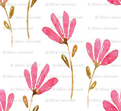 Watercolour Floral Pattern No. 1