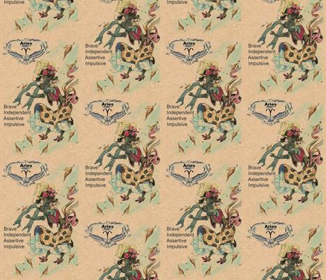 Aries fabric by linda-hughes on Spoonflower - custom fabric