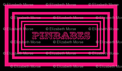Pinbabes Pink on Black Twilight Zone