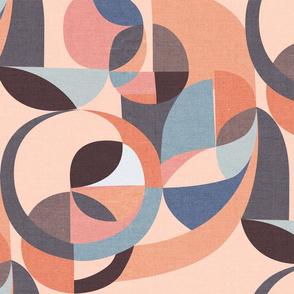 Modern Circles {Pink}