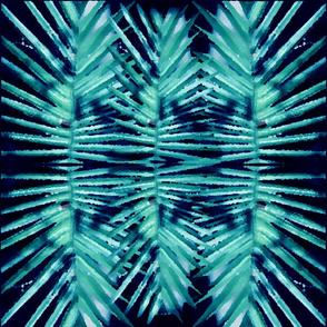 Palm Aqua Reflection
