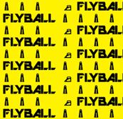 Flyball Lane 1 Inch Yellow
