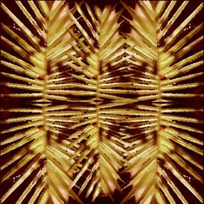 Palm Golden Reflection