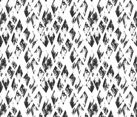 rough diamonds fabric by designist_de on Spoonflower - custom fabric