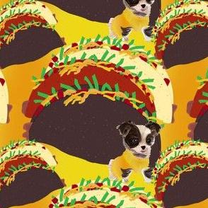 Chihuahua & Veggie Taco
