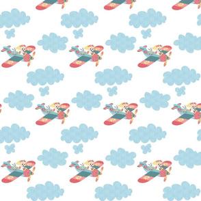 Nomi & Brave Fly (white background)