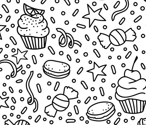 Sugar Rush fabric by little_luck_designs on Spoonflower - custom fabric