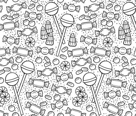 Sweet Tooth fabric by paulprevel on Spoonflower - custom fabric