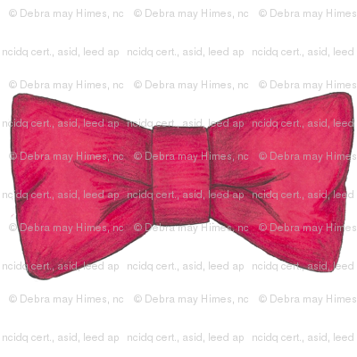 Tempo's red bow tie