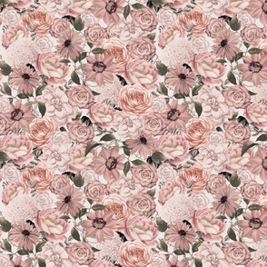 Vintage Floral Romance