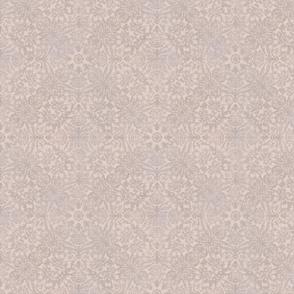 Oriental Soft Pink Damask Pattern